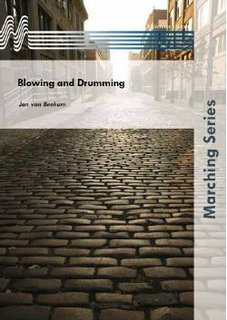 Blowing and Drumming - Partitur