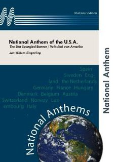 National Anthem of the U.S.A. - Partitur