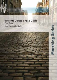 Vincente Gerardo Paso Doble - Partitur