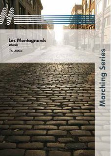 Les Montagnards - Partitur