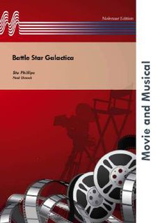 Battle Star Galactica - Partitur