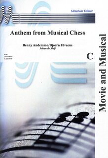 Anthem from Musical Chess - Partitur