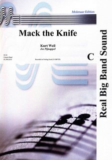Mack the Knife - Partitur