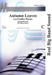Autumn Leaves - Partitur