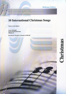 10 International Christmas Songs - Partitur