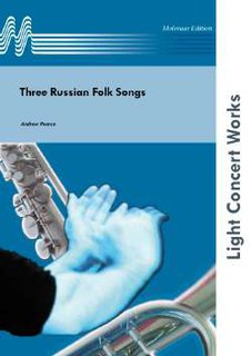 Three Russian Folk Songs - Partitur