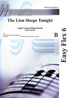 The Lion Sleeps Tonight - Partitur