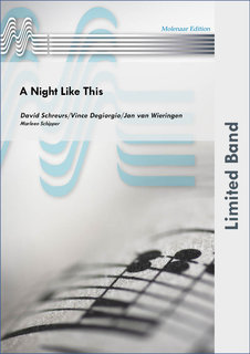 A Night Like This - Partitur
