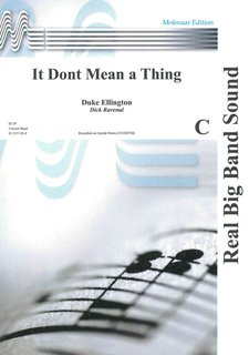 It Dont Mean a Thing - Partitur