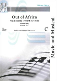 Out of Africa - Partitur