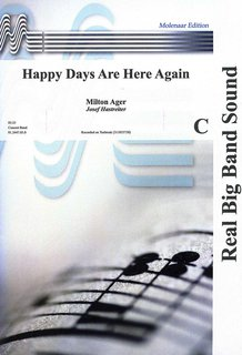 Happy Days Are Here Again - Partitur