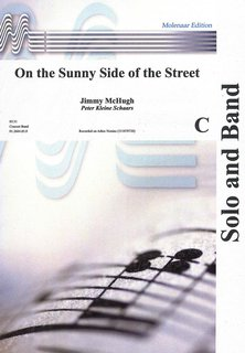 On the Sunny Side of the Street - Partitur