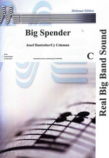 Big Spender - Partitur
