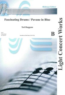 Fascinating Drums / Pavane In Blue - Partitur