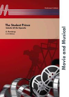 The Student Prince - Partitur