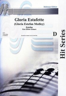 Gloria Estafette - Partitur