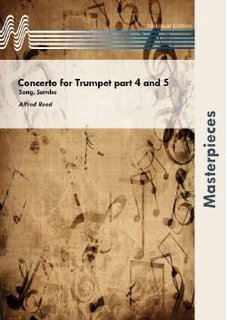 Concerto for Trumpet part 4 and 5 - Partitur