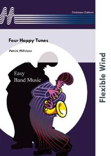 Four Happy Tunes - Partitur