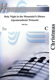 Holy Night in the Mountain´s Silence - Partitur