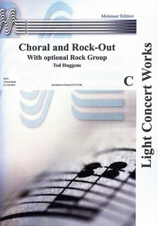 Choral and Rock Out - Partitur