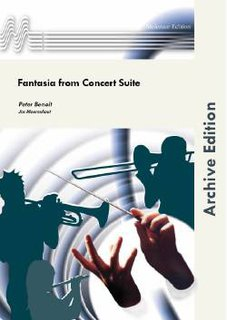 Fantasia from Concert Suite - Partitur