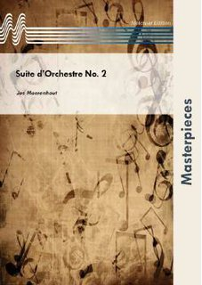 Suite dOrchestre No. 2 - Partitur