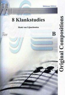 8 Klankstudies - Partitur