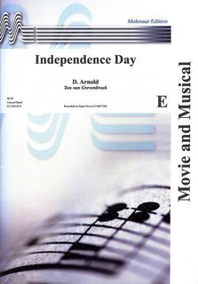 Independence Day - Partitur