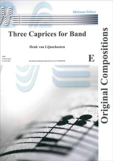 Three Caprices for Band - Partitur