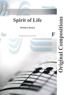Spirit of Life - Partitur