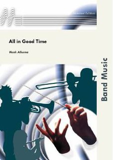 All in Good Time - Partitur