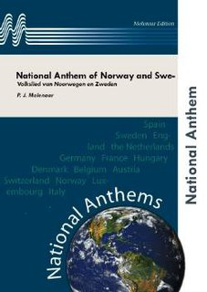 National Anthem of Norway and Sweden - Set (Partitur und Stimmen)