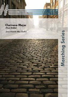 Clarinera Major - Set (Partitur und Stimmen)