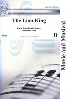 The Lion King - Set (Partitur und Stimmen)