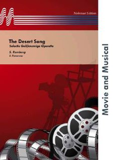 The Desert Song - Set (Partitur und Stimmen)