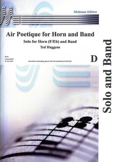 Air Poetique for Horn and Band - Set (Partitur und Stimmen)