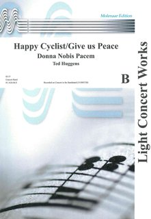 Happy Cyclist/Give us Peace - Set (Partitur und Stimmen)
