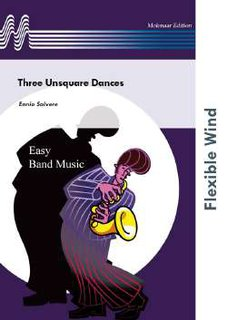 Three Unsquare Dances - Set (Partitur und Stimmen)