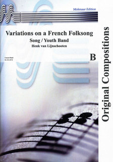 Variations on a French Folksong - Set (Partitur und Stimmen)