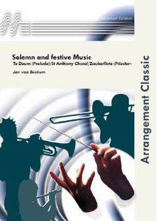 Solemn and festive Music - Set (Partitur und Stimmen)