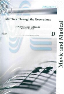 Star Trek Through the Generations - Set (Partitur und Stimmen)