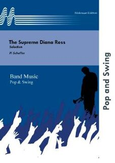 The Supreme Diana Ross - Set (Partitur und Stimmen)