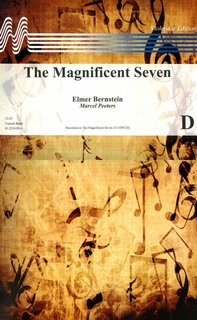 The Magnificent Seven - Set (Partitur und Stimmen)