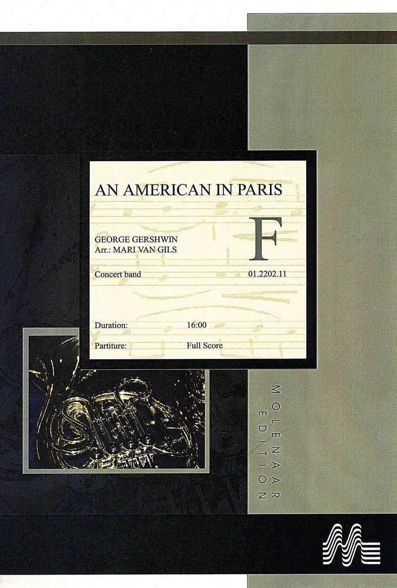 An american in paris set partitur und stimmen noten for Lg store paris