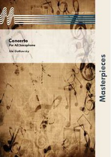 Concerto for Alto Saxophone and Band - Set (Partitur und Stimmen)