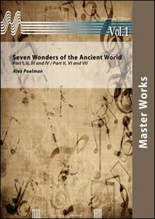 Seven Wonders of the Ancient World - Set (Partitur und Stimmen)