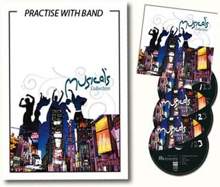 Practise With Band - Tenor Saxophone & Musicals - Collection 3CD box