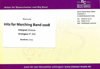 Hits for Marching Band 2008