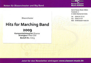Hits for Marching Band 2009