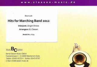 Hits for Marching Band 2012